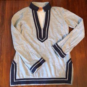 Tory Burch cotton terry tunic